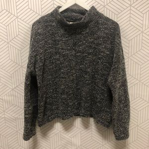 Madewell marble knit sweater size Large